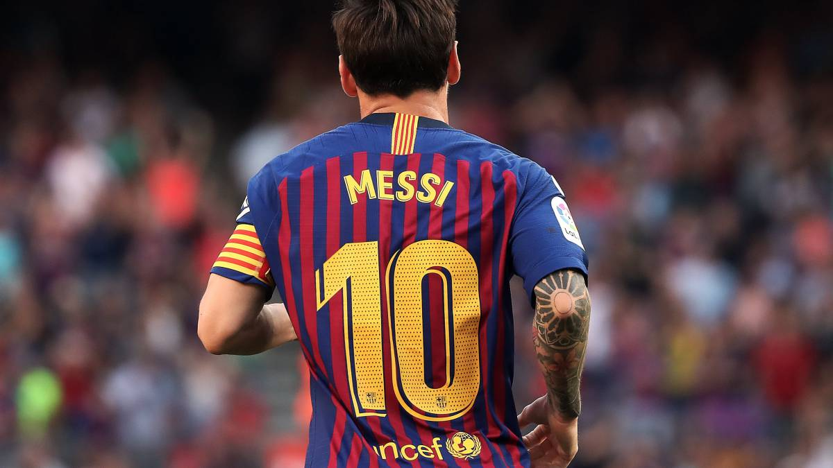 We won't retire Lionel Messi's No.10 shirt because of LaLiga rule - Barcelona