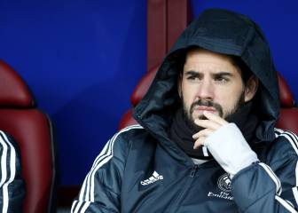 Isco misses out again