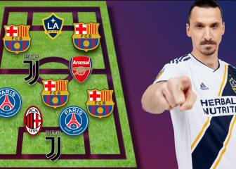 Zlatan's best ever XI: plenty of surprises