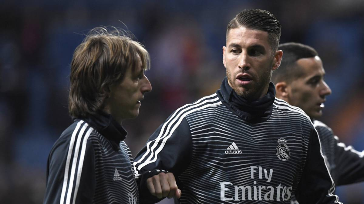 Ramos and Florentino to join Modric for Ballon d'Or