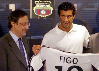 Barcelona fan group request removal of Luis Figo plaque at Camp Nou