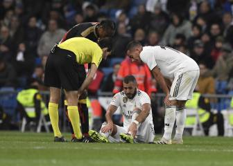 Injury panic at Real Madrid over Benzema and Asensio