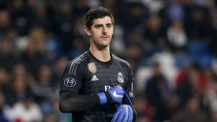 Courtois, contra Simeone: \