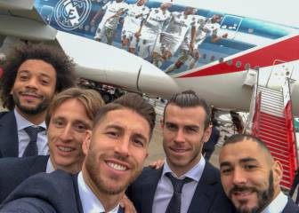 Real Madrid fly out to UAE ahead of Club World Cup semi-final