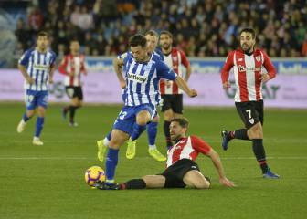 1x1 del Athletic: Yeray, colosal