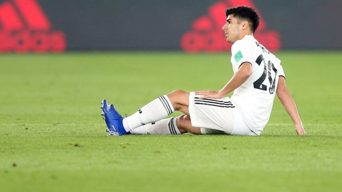 Marco Asensio sidelined from Madrid team with quad injury
