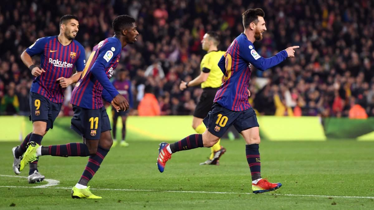 El Barça se mantiene en lo alto de la tabla sin problemas. El Sevilla comienza a flojear.