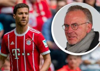 Rummenigge hints at Bayern coaching role for Xabi Alonso