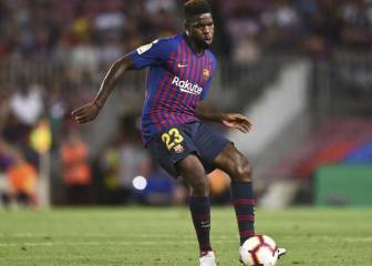 Umtiti aiming to return against Olympique Lyon on 19 February