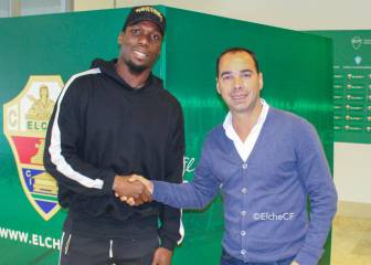 Paul Pogba's brother Florentin on trial with Spanish club Elche