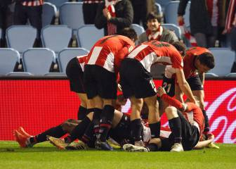 Muniain y Williams sacan al Athletic del descenso