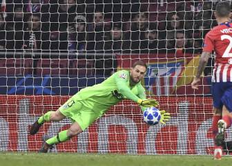Atlético's Jan Oblak flirts with a move to the Premier League