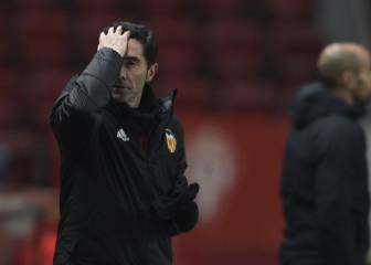 Marcelino's Valencia job on the line against Valladolid