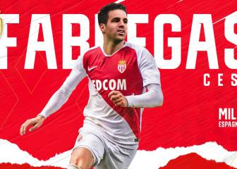 Official: Cesc Fàbregas signs with AS Monaco till 2022