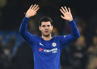 Morata out of Chelsea squad for the second game in a row
