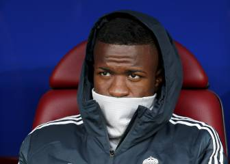 Vinicius condition improving and he could play against Real Betis