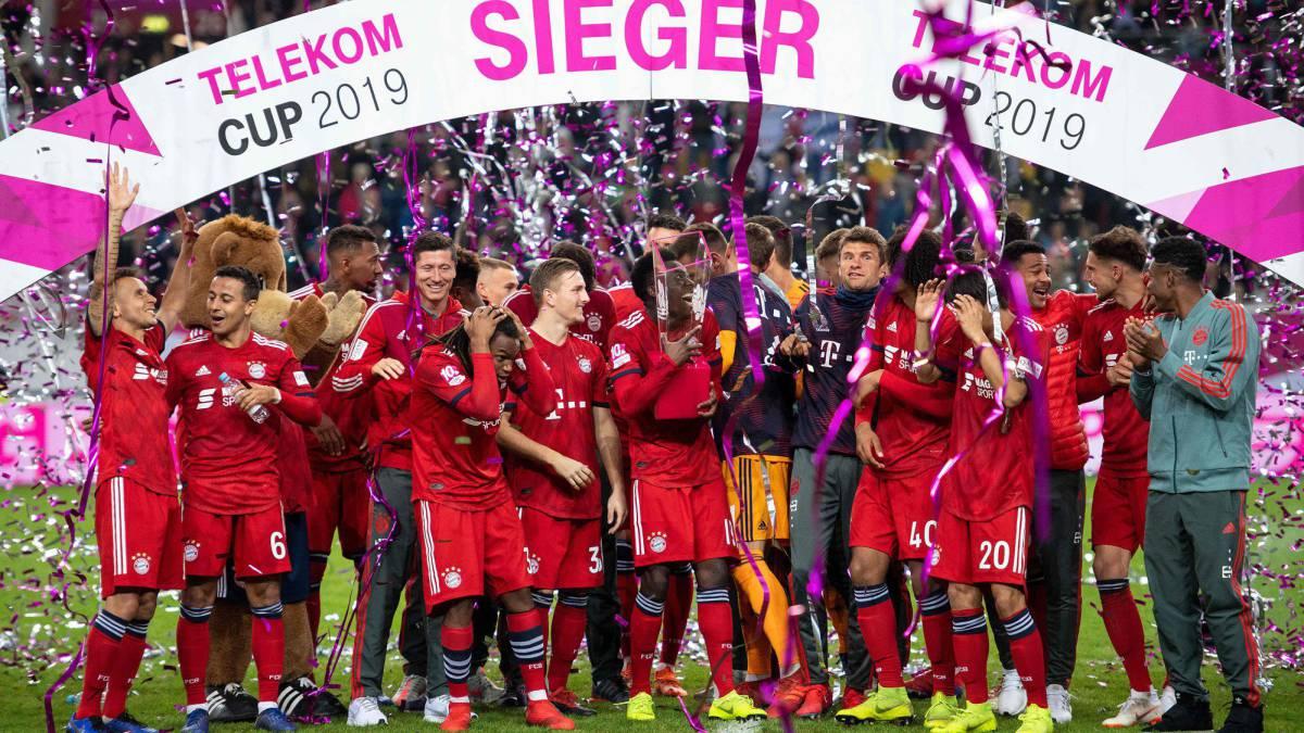 Resultado de imagen de Bayern munich telekom cup