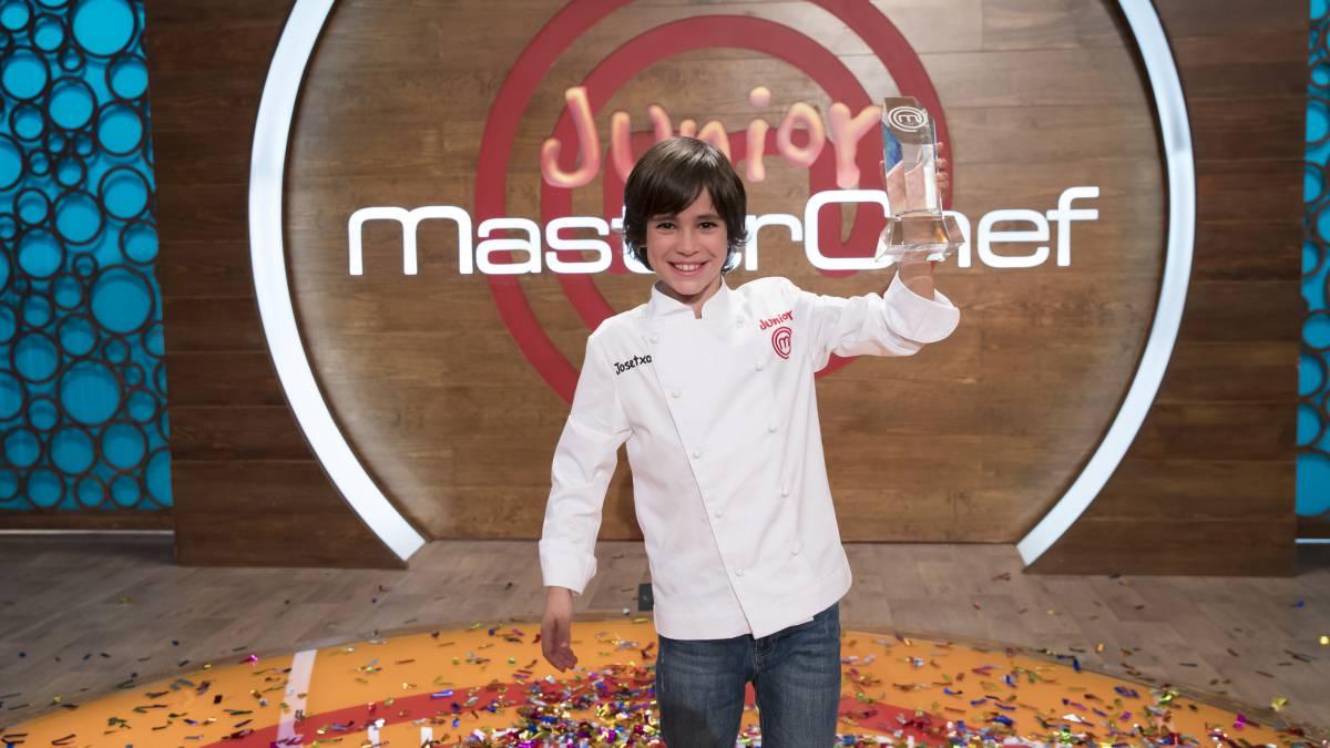 'Josetxo', de lateral atlético a rey de MasterChef Junior 6