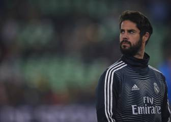 Isco is option number 20 for Santiago Solari