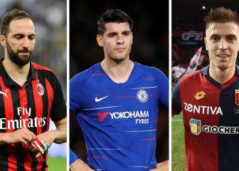 Morata, Higuaín, Piatek expected to be announced soon