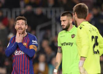 Barcelona avoid disqualification from Copa del Rey, as Levante case rejected