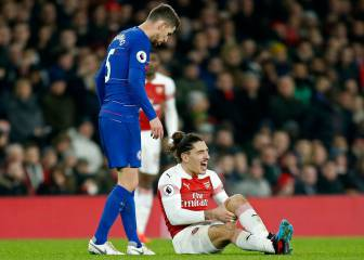 The Guardian: Bellerin sufre rotura del ligamento cruzado