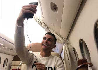 Cristiano Ronaldo criticised for timing of private jet selfie