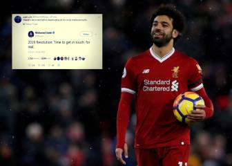 Liverpool's Salah closes Twitter account after cryptic post