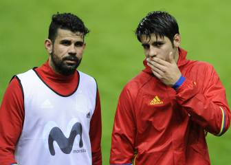 Morata and Costa competing for time with Atlético and Spain