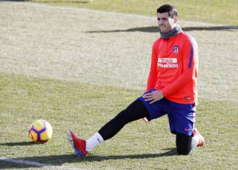 Morata put through the mill in his second day at Atlético