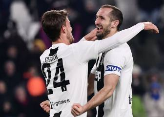 La Juve no ficha: optimismo para Chiellini y Bonucci