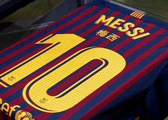 a51d08a7a8c Barça celebrate Chinese New Year with players' shirt names in Mandarin