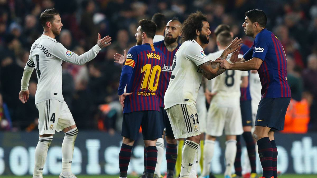 Semifinlaes Copa del Rey. BARCELONA 1 – REAL MADRID 1