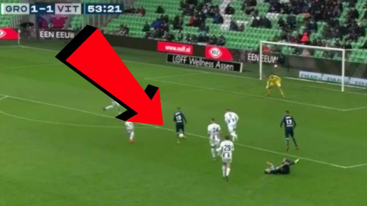 Difícil definir así  vean dónde fue el disparo de Odegaard en una clara  ocasión de gol 39fadb6b1ab3