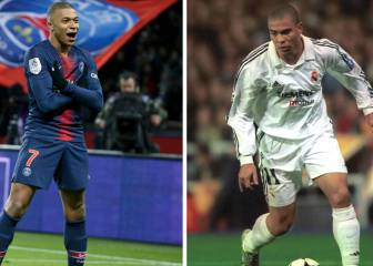Mbappé equals Ronaldo in 24 Champions League games