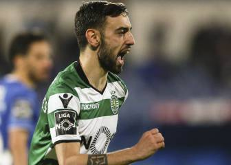 Sporting's Bruno Fernandes on Atlético's shopping list