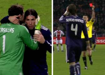 Sergio Ramos in a repeat of the 'Mourinho show' against Ajax