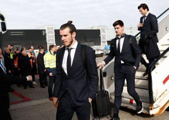 Courtois criticises Bale's effort to integrate at Madrid