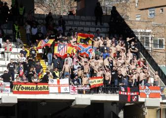 Case against Rayo opened after Atleti fans display racist banners in Vallecas