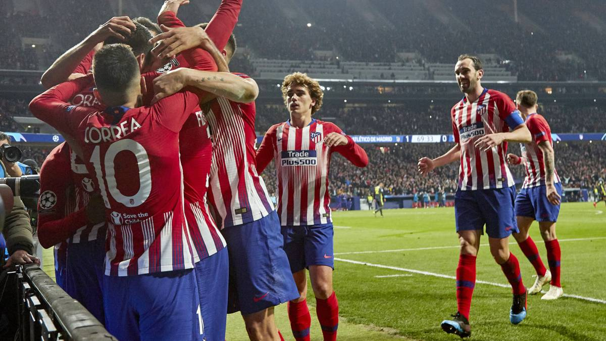 ATLÉTICO 2 – JUVENTUS 0 Atlético tumbó a la Juventus