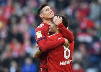 Hoeness: James future up to Bayern, not the player