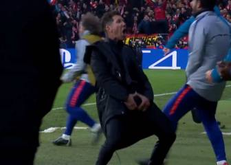Simeone hit with UEFA charge over 'big balls' celebration
