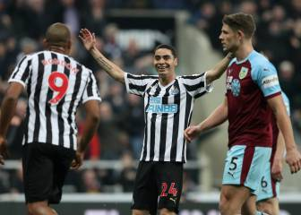 El Newcastle de Benítez sigue en racha y golea al Burnley