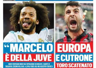 Juventus advance Marcelo and Zidane; Tagliafico for Madrid
