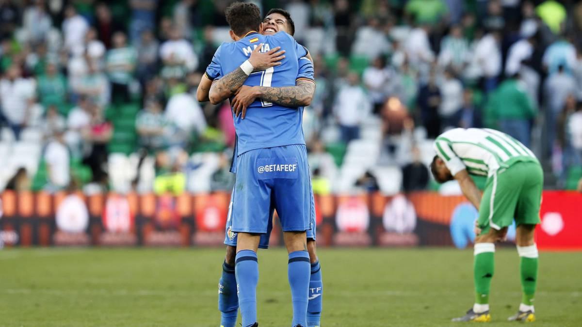 El Getafe remata al Betis y da un golpe de Champions d312f2a216861