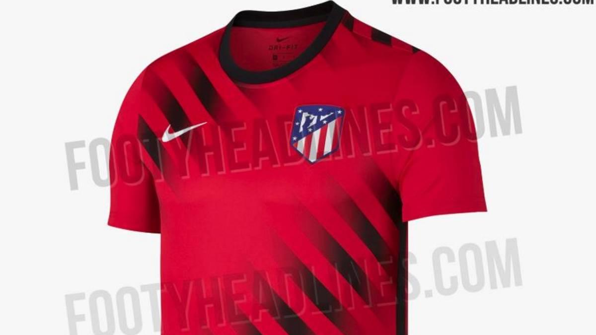 Se filtra la posible camiseta de entrenamiento del Atlético. Camiseta  entrenamiento del Atlético f66c92624795b