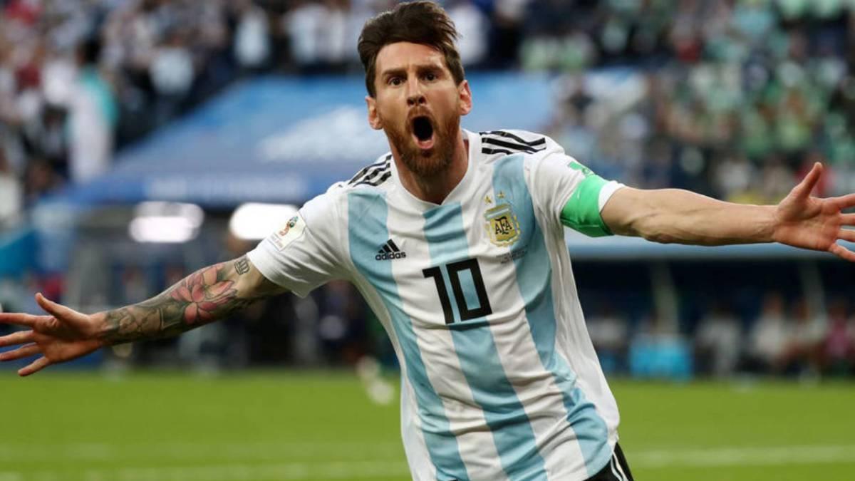 Resultado de imagen de messi argentina