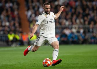 Carvajal and Vazquez to miss a month with injury