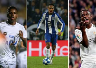 Militão, Rodrygo, Vinicius and other top rated U-21 Brazilian talent