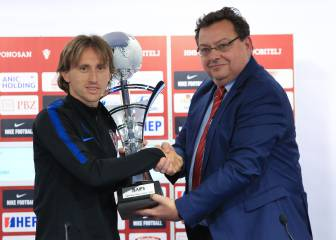 Modric named best male athlete of the year 2018